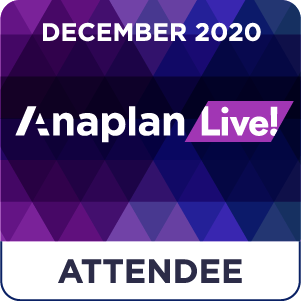 Anaplan Live! Attendee - Dec20